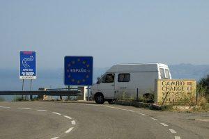 French Spanish Border Crossing Wikimedia